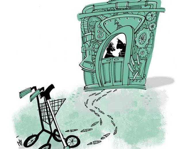 Stichting De Tijdmachine: Illustratie project De Tijdmachine