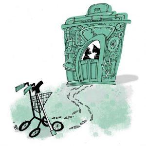 Illustratie Zorgverbeteringstraject De Tijdmachine