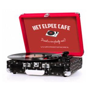 Stichting De Tijdmachine: Projecten - Het Elpee Café - Crosley platenspeler
