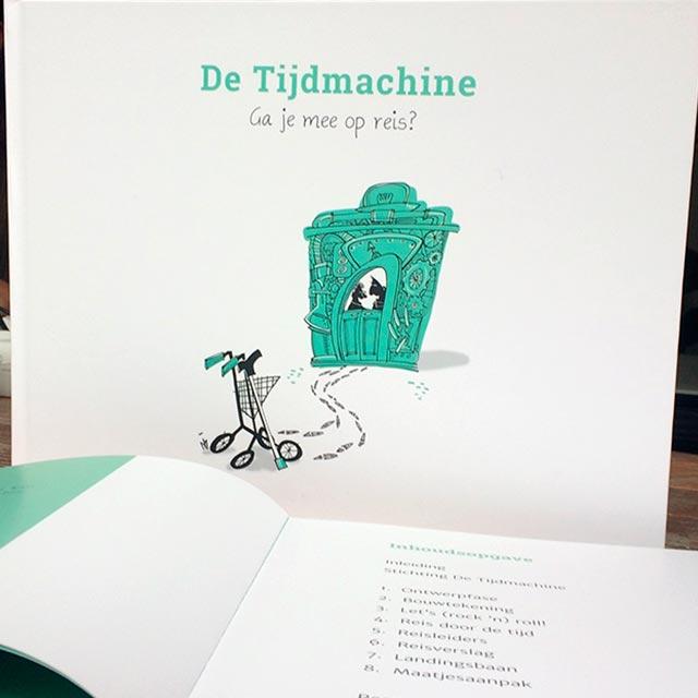 Stichting De Tijdmachine: Winkel - Producten - Boek De Tijdmachine