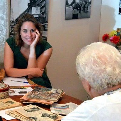Stichting De Tijdmachine: Projecten - De Tijdmachine - Interview met ouderen