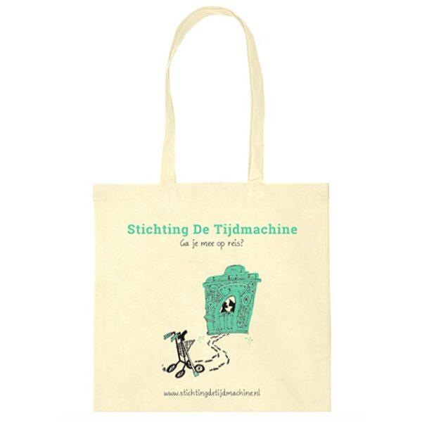 Stichting De Tijdmachine: Winkel - Producten - Tijdmachine Tas